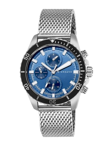 GIORDANO Men Blue Analogue Watch 1949-33 GIORDANO Watches at myntra