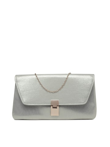 Accessorize Mettalic Solid Clutch Accessorize Clutches at myntra
