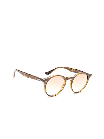 Ray-Ban Men Round Sunglasses 0RB21806311B949 Ray-Ban Sunglasses at myntra