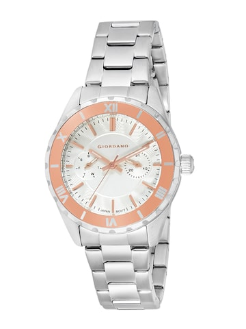 GIORDANO Women Silver-Toned Analogue Watch GIORDANO Watches at myntra