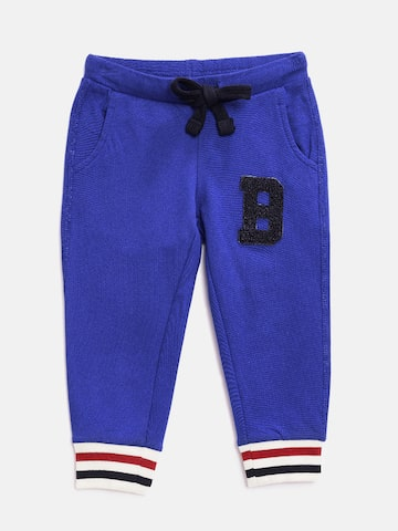 United Colors of Benetton Boys Blue Joggers United Colors of Benetton Track Pants at myntra