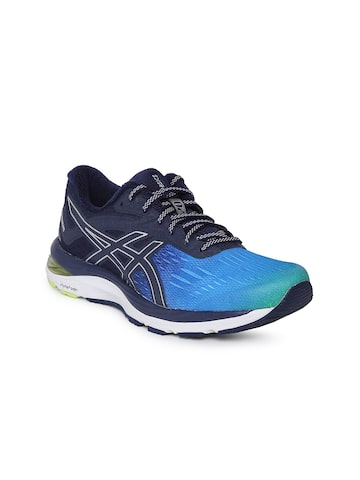 ASICS Women Blue & Black GEL-CUMULUS 20 SP Running Shoes ASICS Sports Shoes at myntra