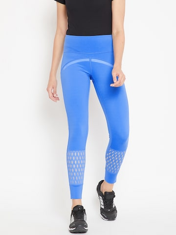 Adidas by Stella McCartney Women Blue Believe This Training Tights Adidas Tights at myntra