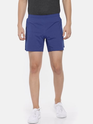 Adidas Men Blue 4KRFT SHO UL LI Solid Regular Fit Sports Shorts Adidas Shorts at myntra