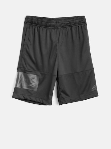 Adidas Boys White CB Training Shorts Adidas Shorts at myntra
