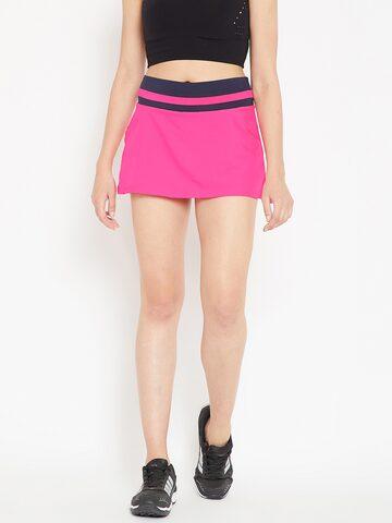 Adidas Women Pink Club Tennis Skort Adidas Shorts at myntra