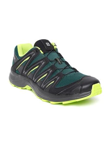 Salomon Men Green & Black XA Baldwin Running Shoes Salomon Sports Shoes at myntra