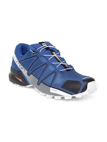 Salomon Men Blue Speedcross 4 Water-Resistant Running Shoes Salomon Sports Shoes at myntra