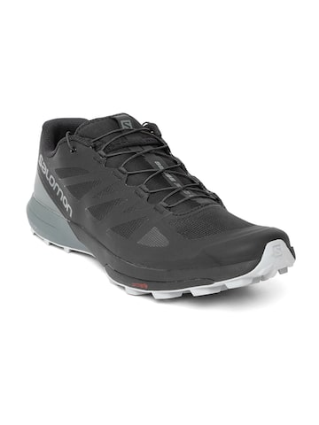Salomon Men Black Running Shoes Salomon Sports Shoes at myntra