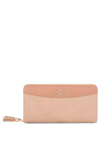 Lavie Women Pink Solid Two Fold Wallet Lavie Wallets at myntra