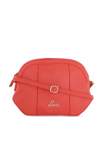 Lavie Red Solid Sling Bag Lavie Handbags at myntra