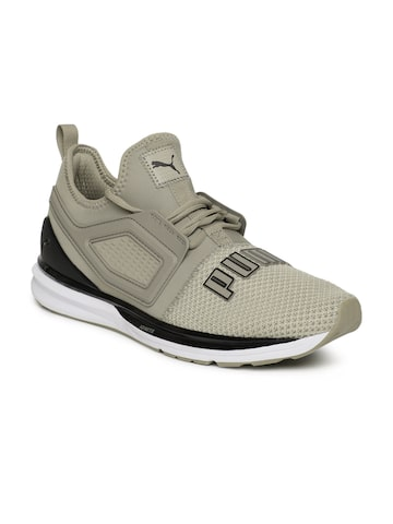 Puma Men Olive IGNITE Limitless 2 Running Shoes Puma Sports Shoes at myntra