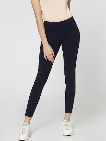 ONLY Women Navy Blue Solid Jeggings ONLY Jeggings at myntra