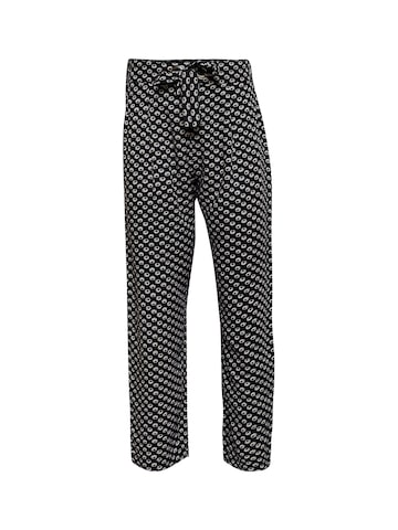Oxolloxo Girls Black Regular Fit Printed Regular Trousers Oxolloxo Trousers at myntra