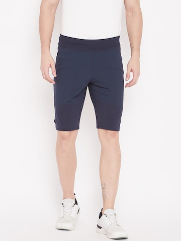 Adidas Men Navy Blue Solid 4KRFT Primeknit Training Shorts Adidas Shorts at myntra