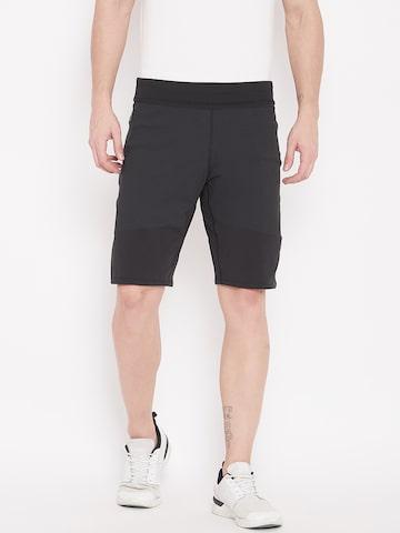 Adidas Men Black Solid 4KRFT PK Sports Shorts Adidas Shorts at myntra