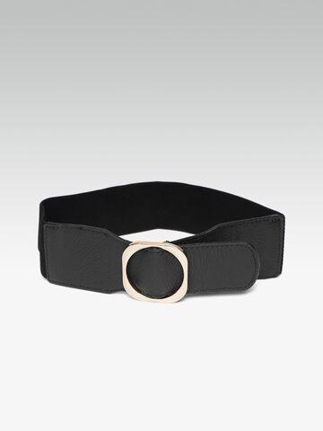 20Dresses Women Black Solid Wide Belt 20Dresses Belts at myntra