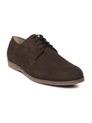 Arrow Men Brown Derbys Arrow Casual Shoes at myntra