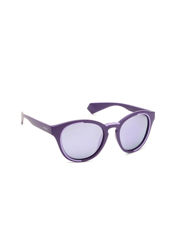 Polaroid Unisex Oval Sunglasses PLD 6065/S B3V 52MF Polaroid Sunglasses at myntra