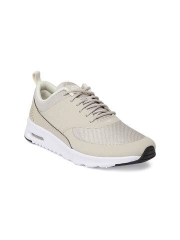 Nike Women Beige Air Max Thea Sneakers Nike Casual Shoes at myntra