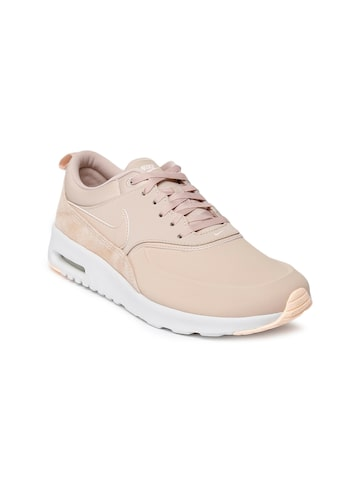 Nike Women's Beige Air Max Thea Premium Sneakers Nike Casual Shoes at myntra