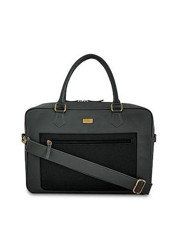 yelloe Unisex Grey Solid Laptop Bag yelloe Laptop Bag at myntra