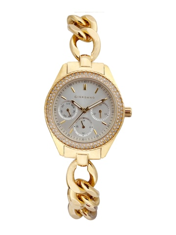 GIORDANO Women Gold-Toned Analogue Watch 2884-22 GIORDANO Watches at myntra