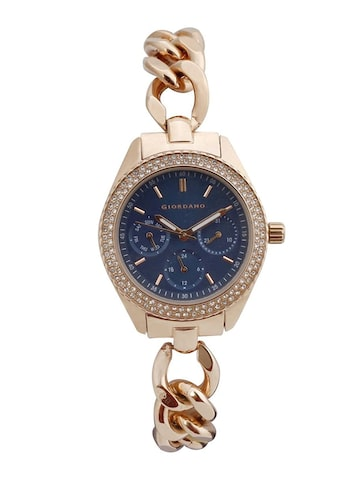 GIORDANO Women Blue Analogue Watch 2884-55 GIORDANO Watches at myntra