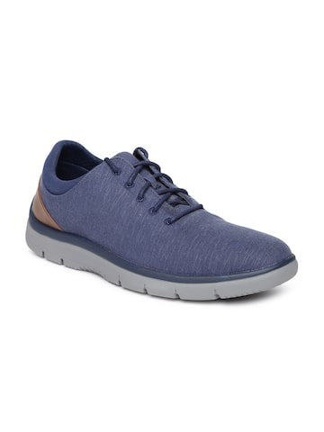 Clarks Men Navy Blue Sneakers Clarks Casual Shoes at myntra