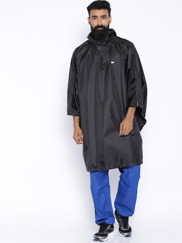 Wildcraft Black Rain Poncho at myntra
