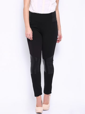 ONLY Black Leggings at myntra