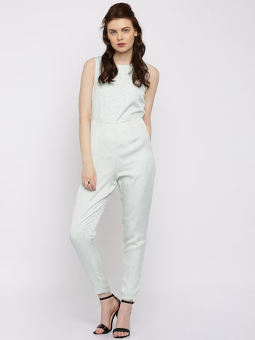 Vero Moda Marquee by Kangana Ranaut Off-White Printed Jumpsuit at myntra