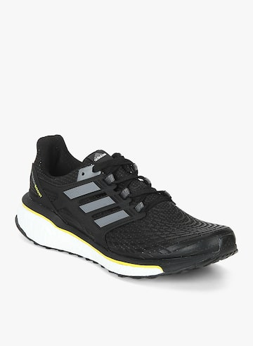 Energy Boost M Black Running Shoes Adidas Sports Shoes at myntra