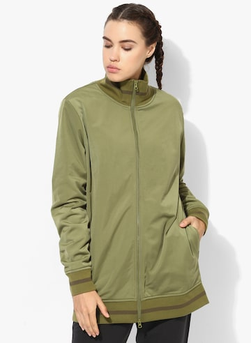 Tearaway Olive Track Jacket Puma Jackets at myntra