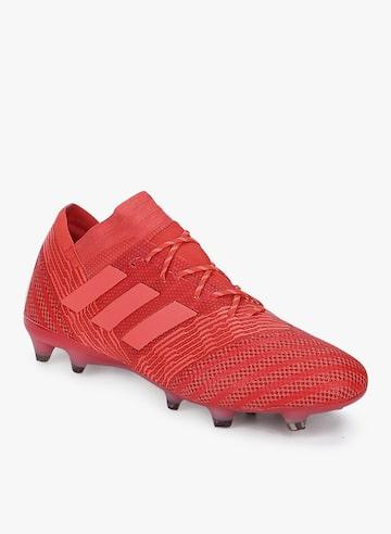 Nemeziz 17.1 Fg Red Football Shoes Adidas Sports Shoes at myntra