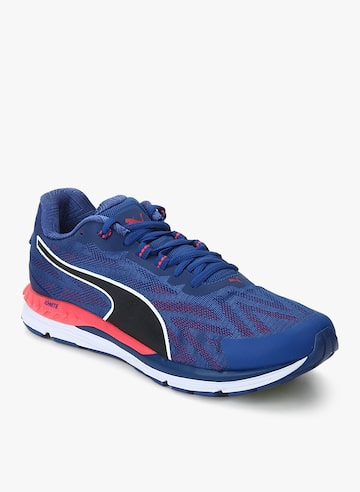 Speed 600 Ignite 2 Blue Running Shoes Puma Sports Shoes at myntra