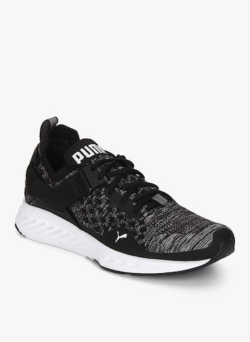 Ignite Evoknit Lo Grey Running Shoes Puma Sports Shoes at myntra