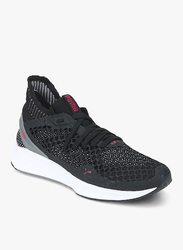 Ignite Netfit Black Running Shoes Puma Sports Shoes at myntra