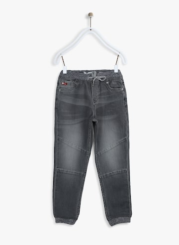 Grey Slim Fit Joggers Lee Cooper Jeans at myntra