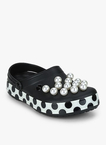 Cb Timeless Clash Pearls Clog Black Flip Flops Crocs Flip Flops at myntra