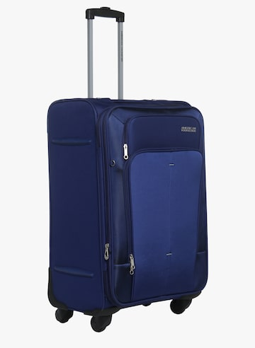 67Cm Crete Ink Blue Soft Luggage Strolley AMERICAN TOURISTER Trolley Bag at myntra