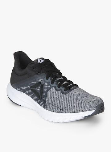 Reebok Women Grey & Black Running Shoes Reebok Sports Shoes at myntra