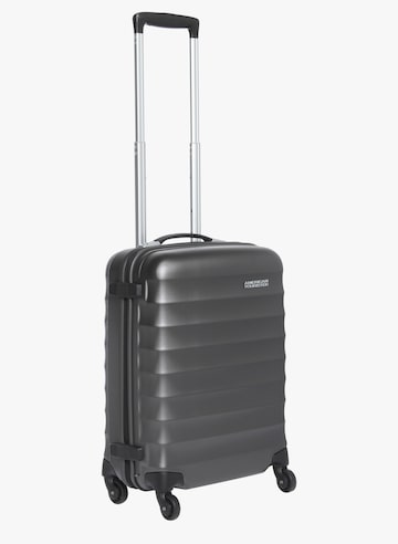 55Cm Paralite + Sp Gunmetal 4 Wheel Hard Luggage Strolley AMERICAN TOURISTER Trolley Bag at myntra