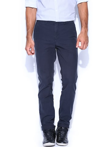 tommy hilfiger men navy hudson straight fit chino trousers. Black Bedroom Furniture Sets. Home Design Ideas