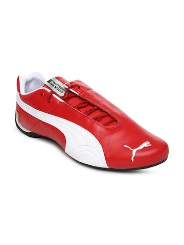 puma ferrari sneakers red