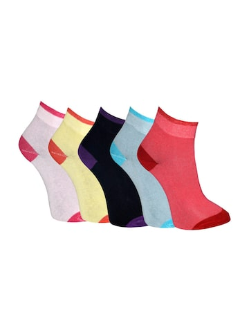 MARC Women Set of 5 Socks at myntra