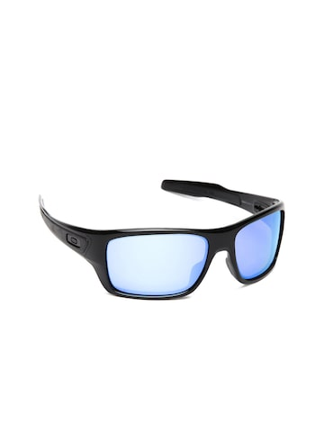 OAKLEY Turbine Men Mirrored Rectangular Sunglasses 0OO9263 at myntra