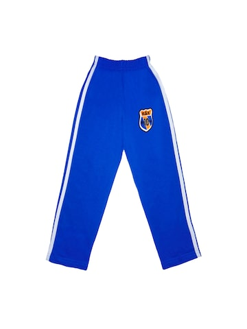 SWEET ANGEL Boys Blue Track Pants at myntra