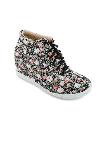20Dresses Women Multicoloured Floral Print Casual Shoes at myntra
