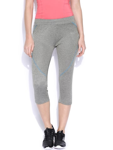 Proline Active Grey Capris at myntra